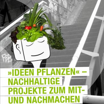 """Kunst-Stoffe Broschüre """"Ideen pflanzen"""""""