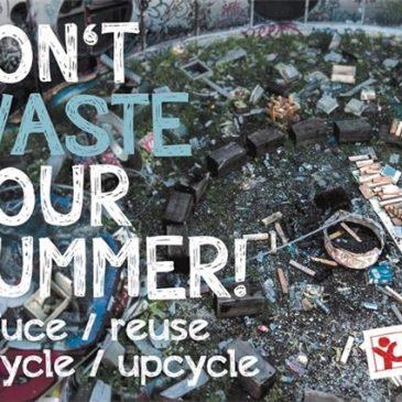 16.08.16 Repair Café: Don't waste your Summer!