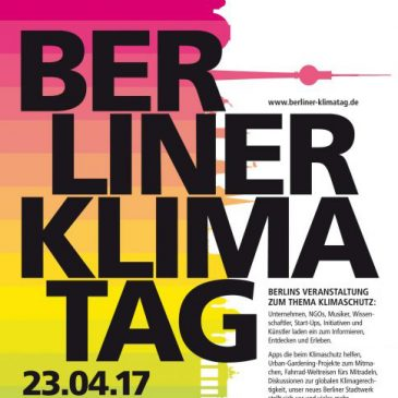 Kunst-Stoffe on the third berlin climate-day