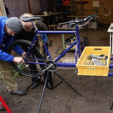 Wir bauen Lastenfahrräder!