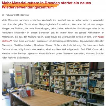 Mehr Material retten: In Dresden startet ein neues Wiederverwendungszentrum