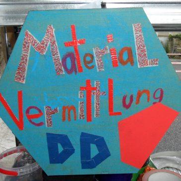 Dresdner Materialvermittlung eröffnet sein Basislager
