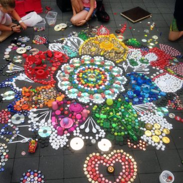 Neuer Workshop: Müll-Mandalas