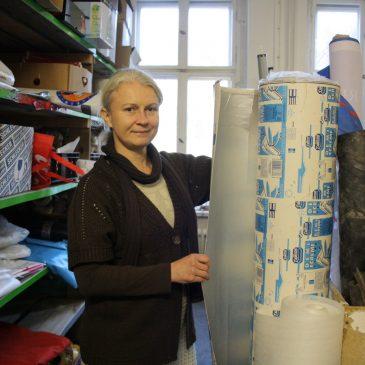 Berliner Woche hat unser Verkaufslager in Pankow besucht