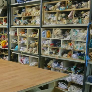 Die Handwerkskammer rät: Reststoffe bei Kunst-Stoffe abgeben