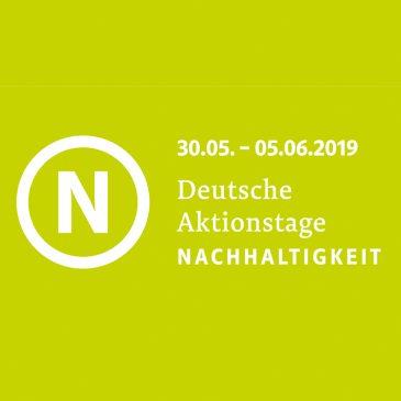 Kunst-Stoffe bei den Deutschen Aktionstagen Nachhaltigkeit 2019