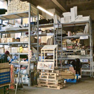 Kunst-Stoffe beim Vernetzungstreffen der Material-Initiativen