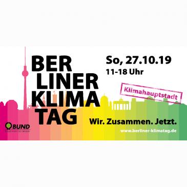 Kunst-Stoffe beim Berliner Klimatag