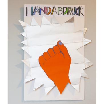 Neues Konzept für die Bildungsarbeit: Hand Print-Ökollage