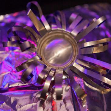 Clubtopia: Alu, Silber & Co – wir upcyceln nachhaltige Partydeko