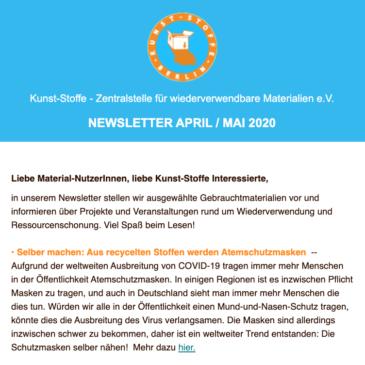 Kunst-Stoffe Newsletter