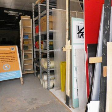 Neuer Materialmarkt im HdM nimmt Betrieb auf