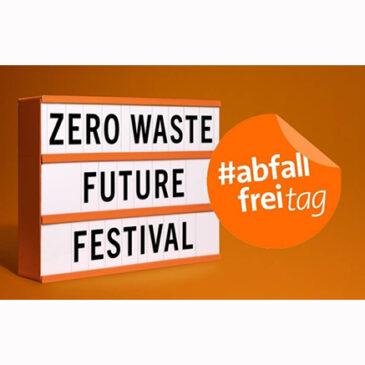 Kunst-Stoffe beim Zero Waste Future Festival