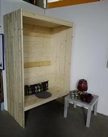 Wissensmagazin Galileo: Ein Strandkorb im Haus der Materialisierung