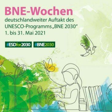 100 deutschlandweite Termine der BNE-Wochen