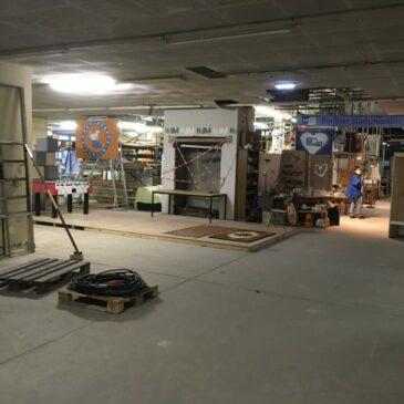 Neue Lounge und Showroom Möglichkeiten im HdM
