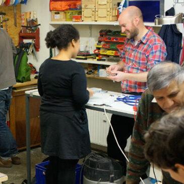 Wiedereröffnung unseres Repair Cafés im HdM