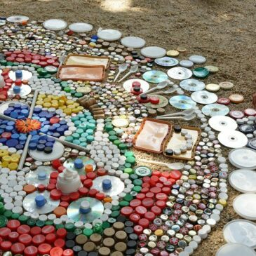 Kunst-Stoffe beim Umwelt- und Nachhaltigkeitsfest