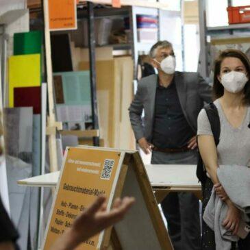 Kunst-Stoffe beim Gasag-Umwelt€uro