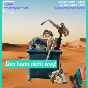 Kunst-Stoffe auf dem Forum Kreativpotentiale